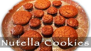 Nutella Cookies Recipe - Homemade Dessert