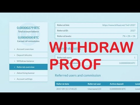 Bithaul Withdraw Proof live | Investment Site Payment Proof Paying Site Review 2017