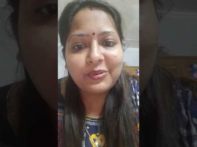 Feedback by  2 A Dhani Agarwal's Mother on online classes
