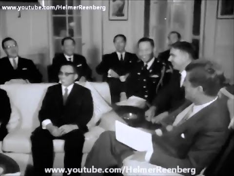 November 14, 1961 -  President John F. Kennedy meets General Chung Hee Park of South Korea