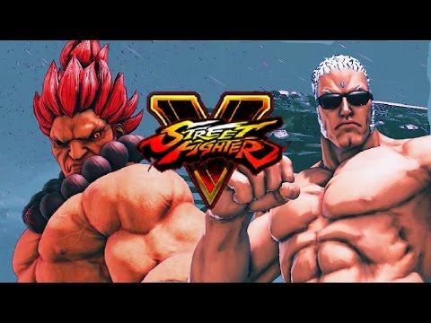 BATTLE OF THE BUFF- Akuma: Week Of! Street Fighter 5 (Online Matches) Pt. 4