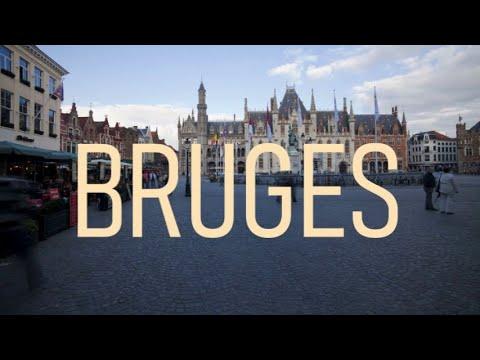 Bruges, Belgium (4K City Tour)