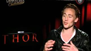 THOR UNCENSORED w Chris Hemsworth Tom Hiddleston Kat Dennings Jaimie Alexander  Kenneth Branagh