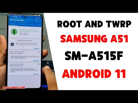 How To Root Samsung A51 Android 11 ||Samsung A515f Root U5 Magisk TWRP|| OneUi 3.1