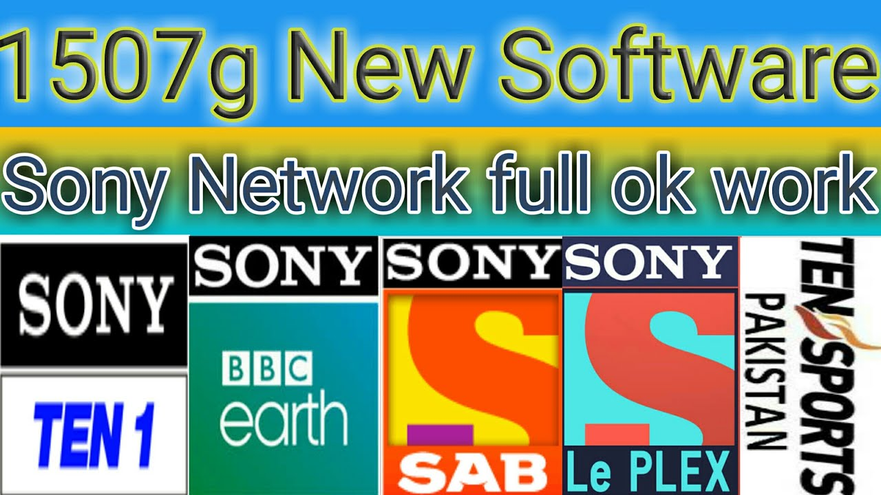 1507g New Software Ten Sport Or Sony Network Full Ok Working