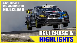 homepage tile video photo for Helicopter Chase & Highlights - Travis Pastrana's Mt. Washington Hillclimb 2021