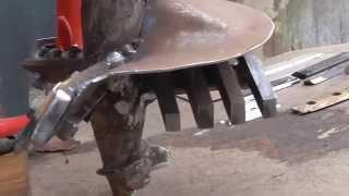 Доработка шнека для мотобура на 200 мм