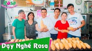 Học bánh mì Việt Nam qua Cảm nhận của học viên USA tại Rosa