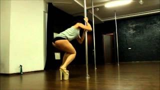 Pole Exotic, Урок 1. С нуля учим связку Exotic Pole Dance