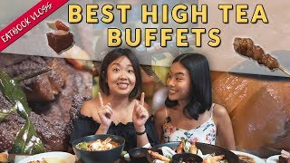 Best High Tea Buffets in Singapore | Eatbook Food Guides | EP 23