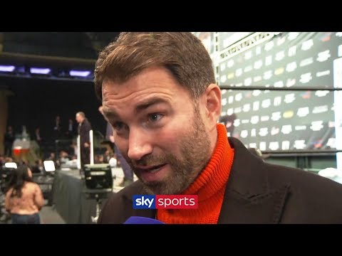 Eddie Hearn on Anthony Joshua's appearance in the USA & talks w/ Deontay Wilder