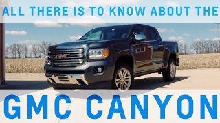 2016 GMC Canyon TEST DRIVE / VIDEO REVIEW
