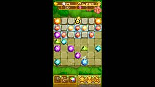 Gemcrafter: Puzzle Journey - iOS & Android Gameplay & Walkthrough for Jungles Level 51
