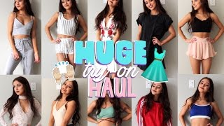 ♡ HUGE AFFORDABLE TRY-ON HAUL | SHOP ULALA, YOINS | AMI CLUBWEAR ♡