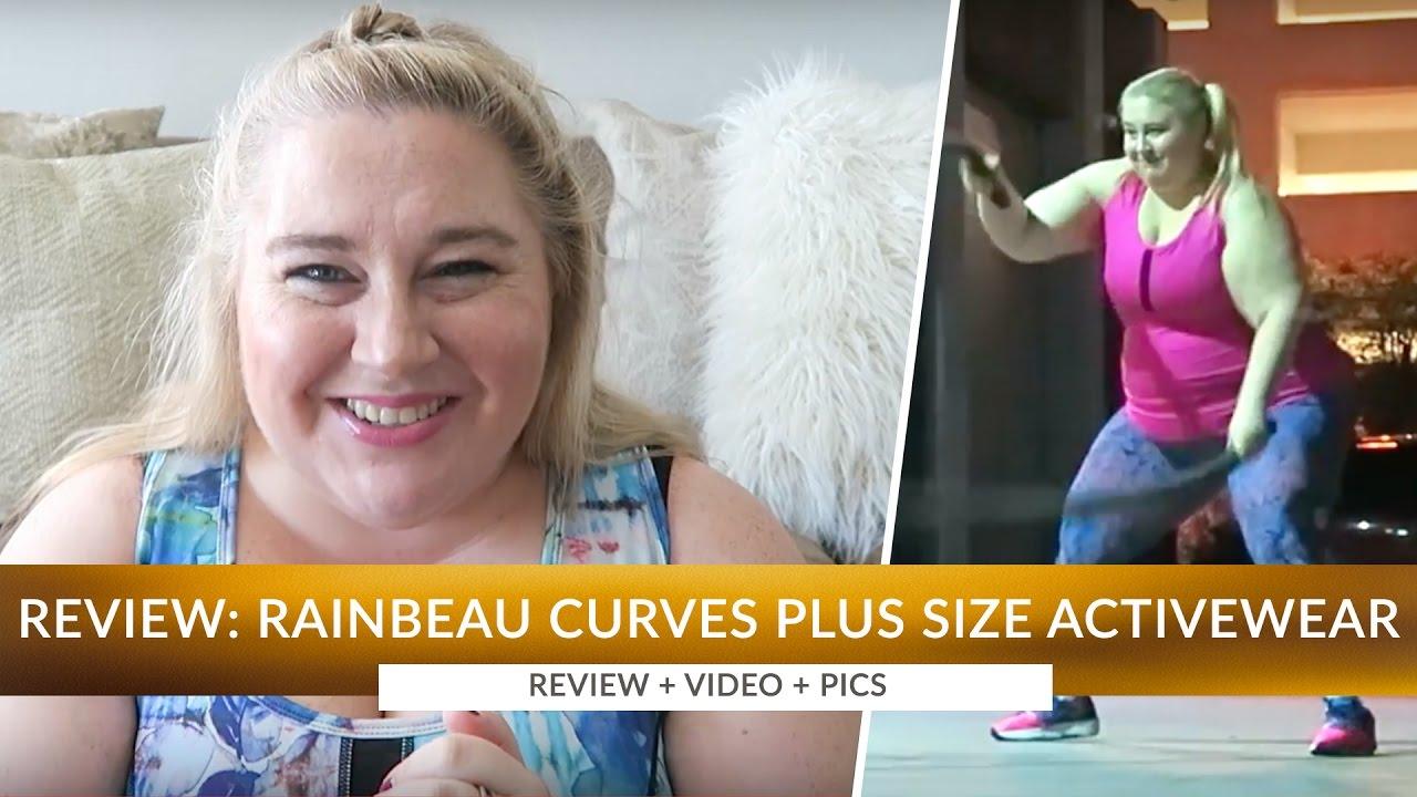 7a0f5c9c6fb Review  Rainbeau Curves Plus Size Activewear Haul - Size 3X - Video ...