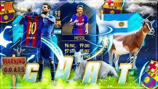 FIFA 18: MESSI TOTY RAGE Squad Builder BATTLE 😈
