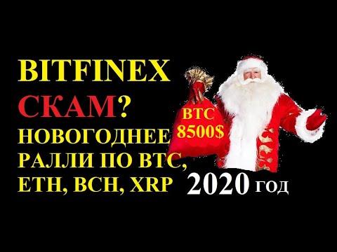Bitfinex СКАМ? Новогоднее ралли или Памп BTC?)
