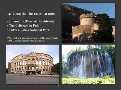 September 2015 travelogue on Alpine lakes and Adriatic Sea