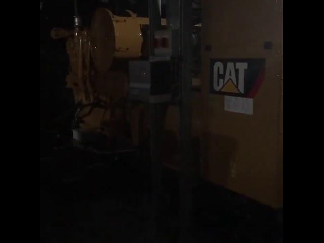 CAT 3512 black start