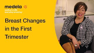 Breast changes in the first trimester