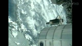 Space Shuttle Endeavour STS-134 undocking ISS Part 2