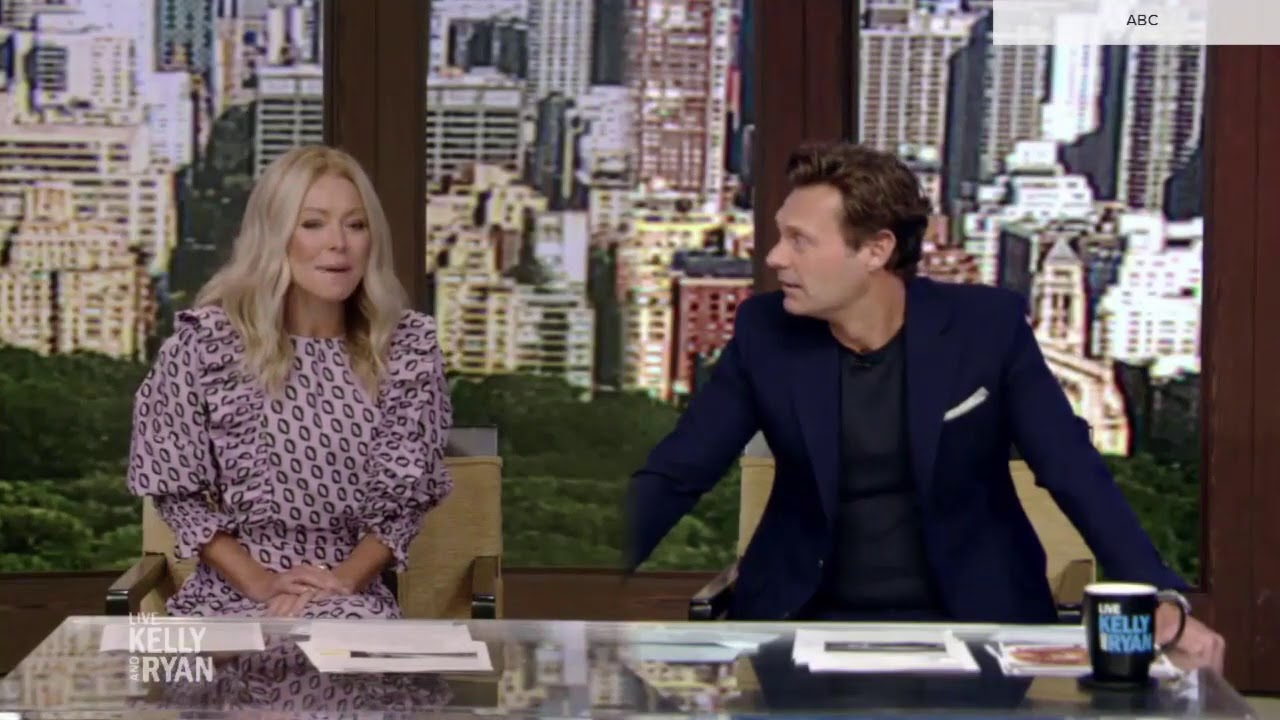 'Live with Kelly & Ryan' social distancing camera trick