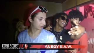 ya boy r.a.w. (@itsyaboyRAW) Performs at Coast 2 Coast LIVE | Paris, France Edition June 5th