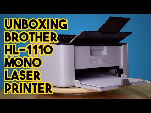 Unboxing Brother HL-1110 Mono Laser Printer | Murah Dan Jimat | Memang Berbaloi
