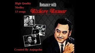 Romantic Kishore Medley Chookar Mere man ko (Only Mukhda of 13 songs with lyrics) Valentine special