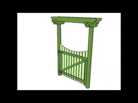 Garden Gate Plans YouTube