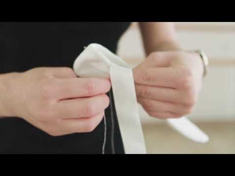 Как правильно пришивать ленты к балеткам
