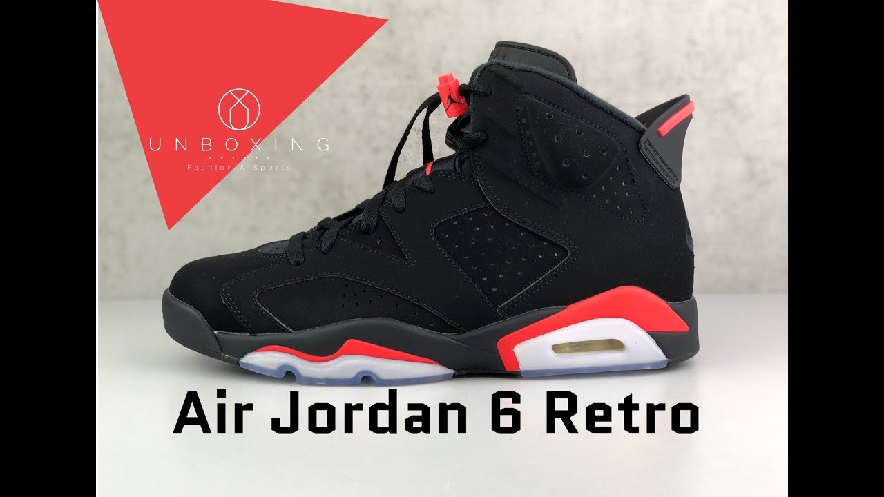 01e0d0d894899d Nike Air Jordan 6 Retro  Black Infrared