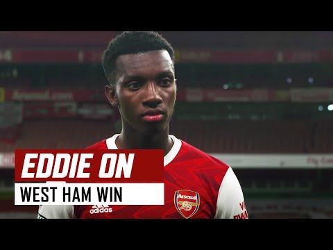 'Everyone is raring to go!' | Arsenal vs West Ham (2-1) | Eddie Nketiah