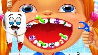 Happy Teeth - Game Menyikat   Membersihkan Gigi - Permainan Film Video Game  Anak Lucu Sikat ... 314ca55e5c