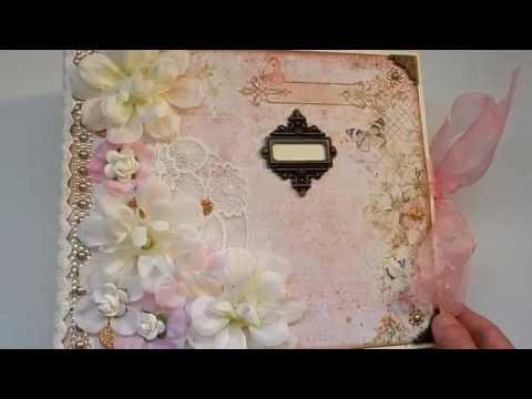 Romantic Floral Wedding Album