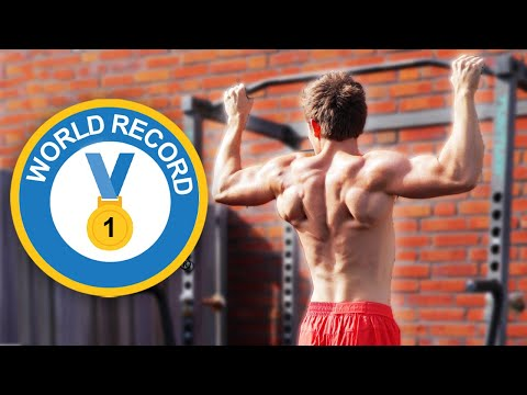 Most Pull Ups In 30 Seconds WORLD RECORD - Can You Break It?