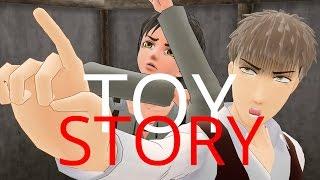 ★ [ MMD ] ¡Eren, mira un titán! ( Parodia Toy Story y SNK )