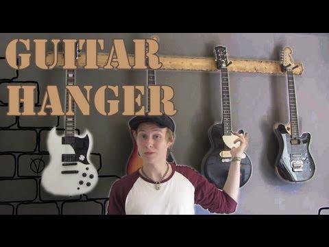 Guitar Hanger Build