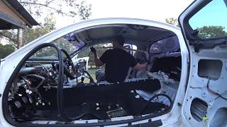 Project RX-8 Interior Removal Part 2 (Stereo, Dash, Headliner, Curtain Airbags)