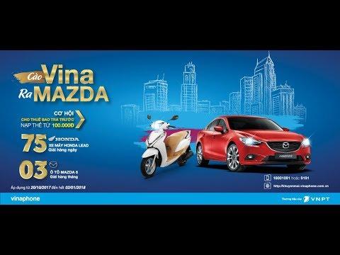 Chương Trình Khuyến Mại Nạp Thẻ Vina Mazda Về Nhà