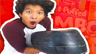 DIY GIANT BLACK MARSHMALLOW!!! by : Marlin