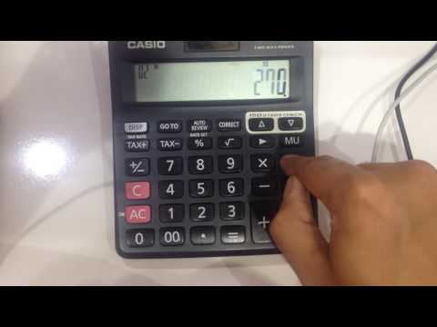 How To Find Out Percentage On Calculator