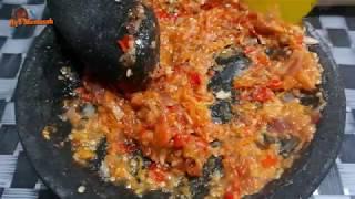 Cara Membuat Sambal Lamongan/Pecel Lele