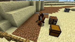 Wile E Coyote vs Roadrunner in Minecraft