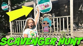 LOL PEARL SURPRISE SCAVENGER HUNT FOR LOL SURPRISE DOLLS! Hide and Seek with LOL Dolls!