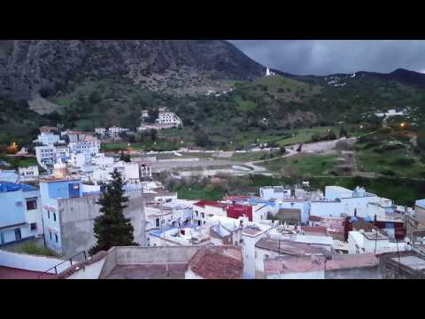 Chefchaouen, Morocco. Evening prayers in the Rif Mountains