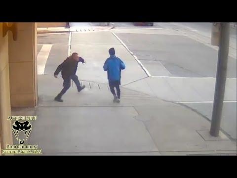 Random Knife Attacks Caught on Video