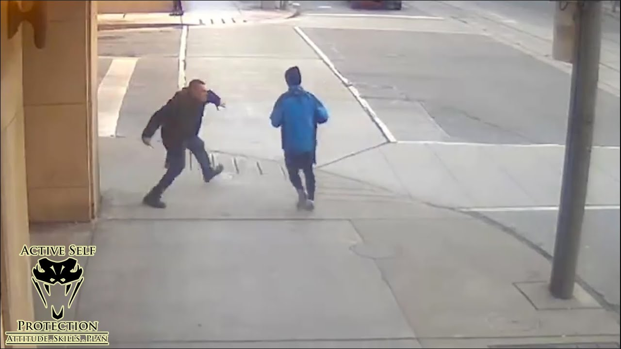 Random Knife Attacks Caught on Video