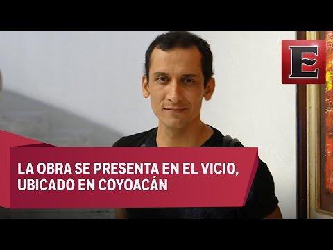 """El actor Manuel Ballesteros y la obra """"Mamita querida"""""""