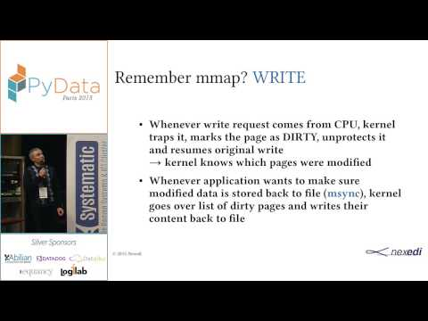 PyData 2015 - Out-of-core NumPy arrays without changing your code with wendelin-core